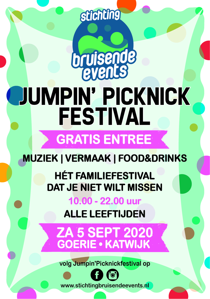 flyer jumpin'picknick festival 2020