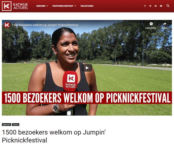 Katwijk Actueel - Jumpick Picknick Festival